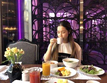 ソウルおすすめ観光地【江南区】インペリアルパレス朝食ブッフェ