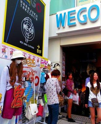 WEGO原宿竹下通り店