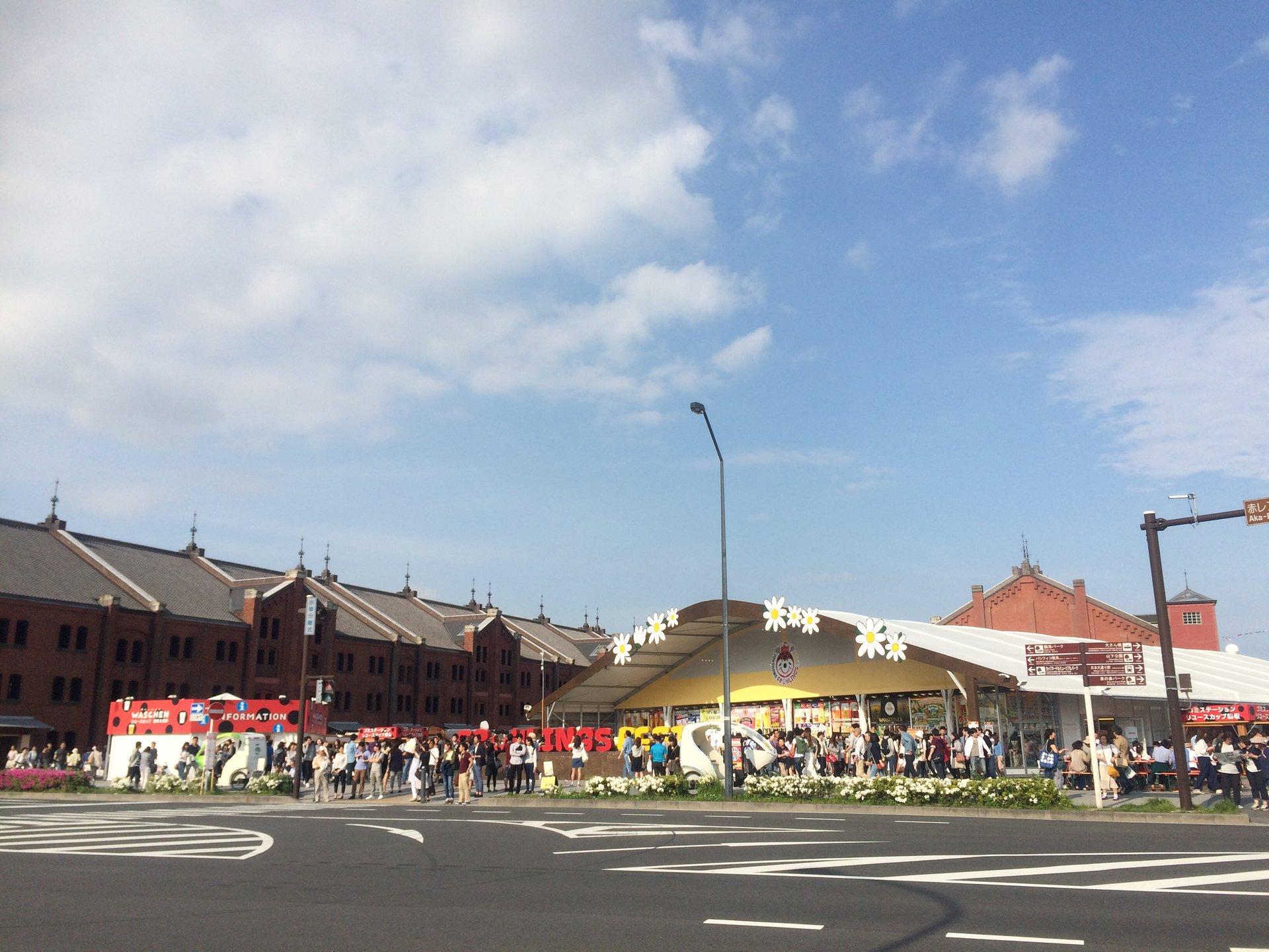 赤レンガ倉庫でドイツフェスタ開催!ゴールデンウィークにオススメです!