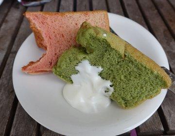 【ふわふわ~絶品のシフォンケーキが食べ放題!】ひたちなかハンバーグランチ・パパバーグママスイーツへ。