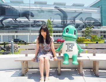 福井駅前徹底解剖!なんでこんなにいっぱい恐竜がいるの?【福井駅の謎】恐竜王国の入り口へようこそ!