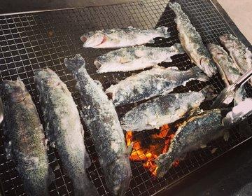 【手ぶら】釣りとBBQを同時に楽しめる!奥多摩・氷川国際ます釣り☆☆☆☆☆【デート・ファミリー】