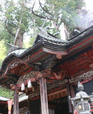 榛名神社 本社・幣殿・拝殿