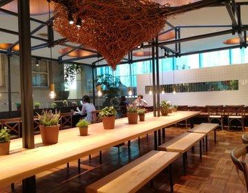 一人作業も、お喋りやデートにも、四条烏丸の使えるカフェ。