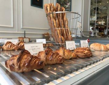 【サラダが有名なパン屋さん⁉︎】イメージはパリのおしゃれなカフェでランチ♡