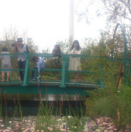 食と緑の空中庭園
