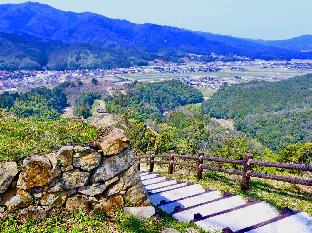 月山富田城跡