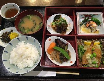 福ビル地階レストラン街【丼 甘味処 華】お弁当から丼・ランチまで☆