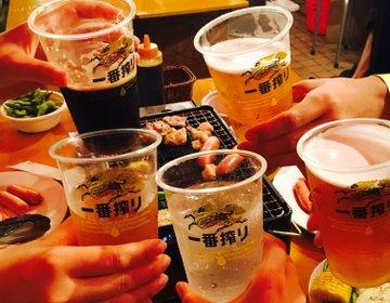 【渋谷のタワレコ屋上にビアガーデン!?】コスパも良くて飲み食べ放題のBBQが楽しめる!
