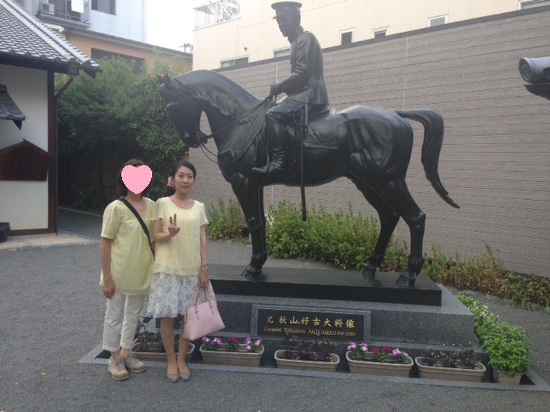 松山城帰りに、イケメン軍人すぎて秋山兄弟生誕地に寄り道☆司馬遼太郎ファン・ビジネスマンにおすすめ☆
