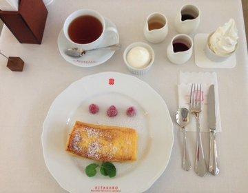 北海道究極フレンチトースト♪マツコの知らない世界で紹介ソフトクリームをトッピング【北菓楼 札幌本館】