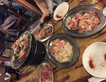 【川崎】激安!二人で食べても3000円?!肉食カップルにおすすめ焼肉デート【たまいのホルモン】