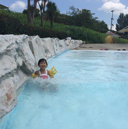 しらこばと水上公園 プール