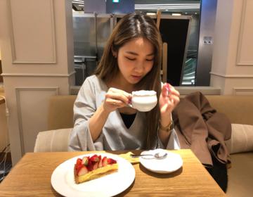 銀座おすすめカフェ♡スイーツブッフェ有・フルーツタルトの美味しいケーキ屋