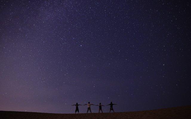 鳥取砂丘 (Tottori Sand Dunes)