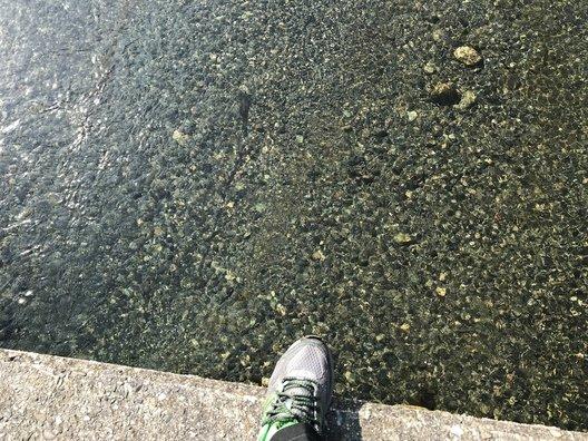穴吹川潜水橋