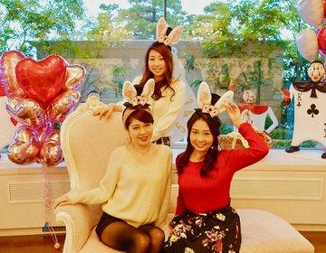 アリスのスイートパーティでサプライズ大成功。インターコンチネンタル 東京ベイでスイーツブッフェ