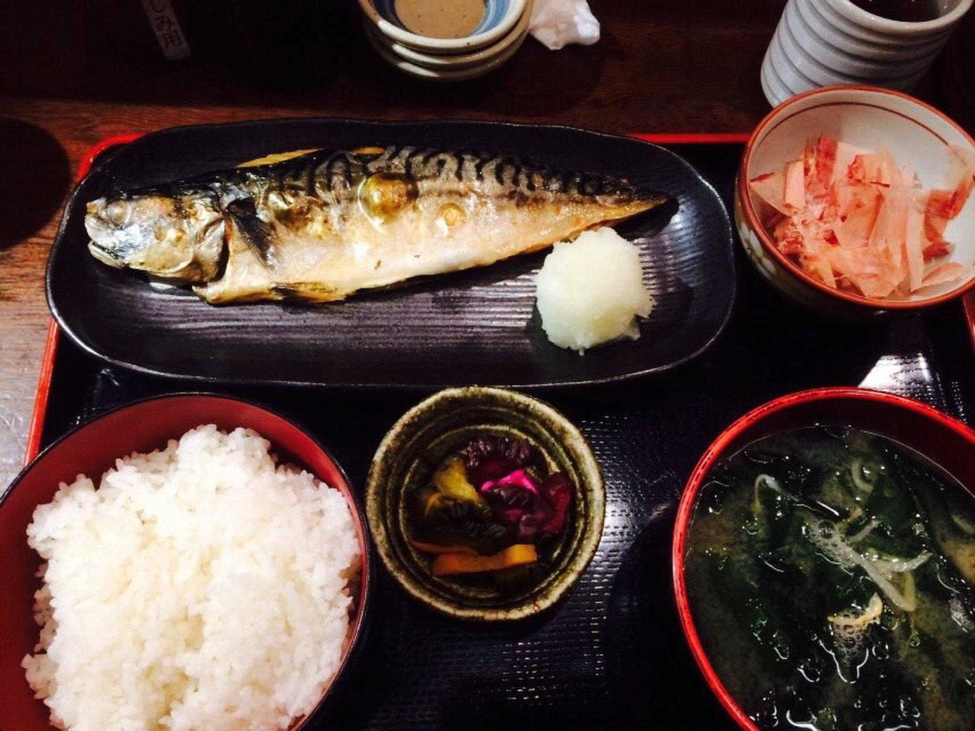 【恵比寿で満足する定食屋さん『三橋屋』!】ほんとに人気の定食屋さんでお魚パクパクっと♡