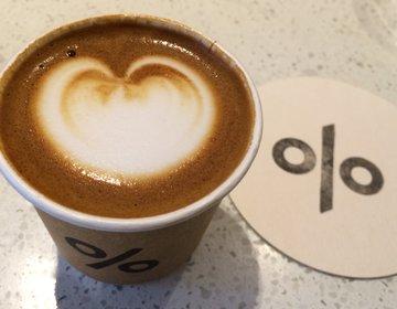 京都観光に来たら一息つくにはおすすめ最先端カフェ【%ARABICA】