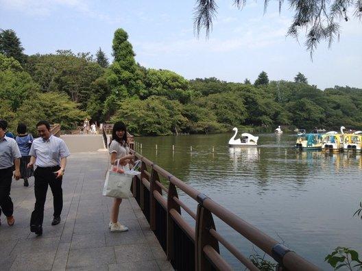 井の頭公園ボート場