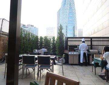 夏を楽しむ!新宿の屋上ビアガーデン、マキャベリで飲み放題プラン☆