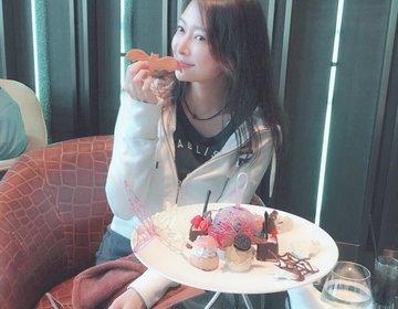 食べれるキャンディーバタフライが舞うギャラリーアフタヌーンティーTrick&Treat!@紀尾井町
