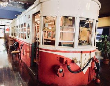 【名古屋市南区】店内に電車がある、パスタ専門店「オールドスパゲッティファクトリー」