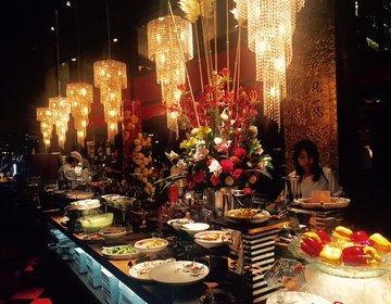 まるで海外リゾート!「Paradise buffet OTTO」でラグジュアリーなブッフェ女子会