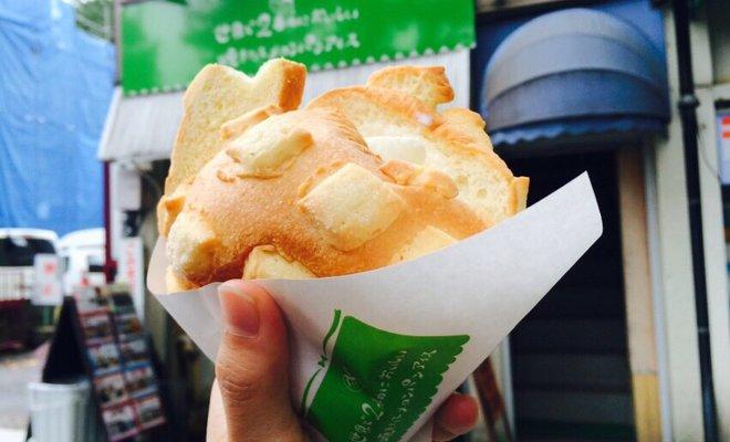 世界で2番めにおいしい焼きたてメロンパンアイス 広坂本店