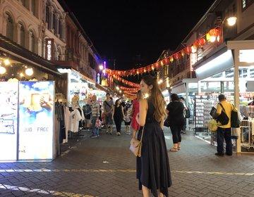 夜のチャイナタウン散策!おすすめタピオカドリンク片手にシンガポール満喫