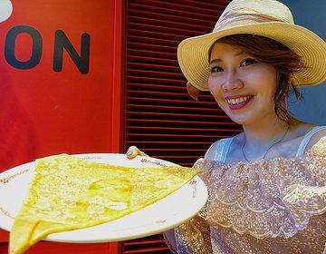 【銀座シックス】人生で1番大きいクレープに出会った!銀座・有楽町駅周辺まったりできるおすすめカフェ