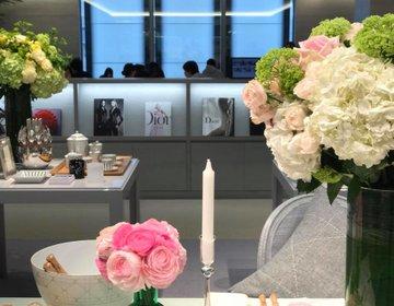 House of Dior〔ハウスオブディオール〕世界3店舗目でDiorの食器をじっくりと。