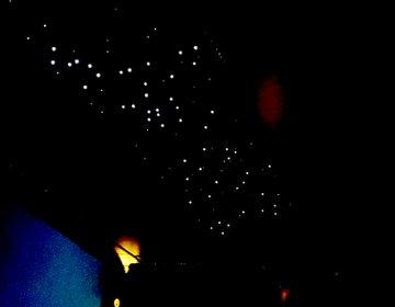 エミレーツ空港のビジネスクラスの夜がすごかった件。ブルガリのスキンケア&夜空の星々♡