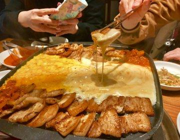 新大久保でオススメの韓国料理屋さん「とんちゃんプラス」がアツい。空いてる穴場!流行りのチーズも