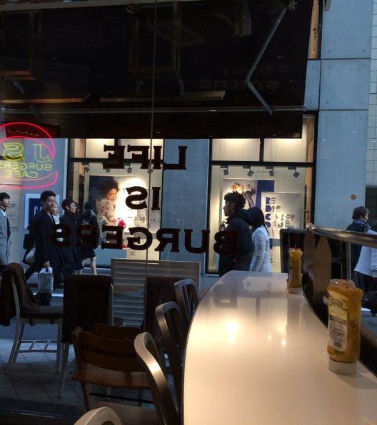J.S. BURGERS CAFE 原宿店