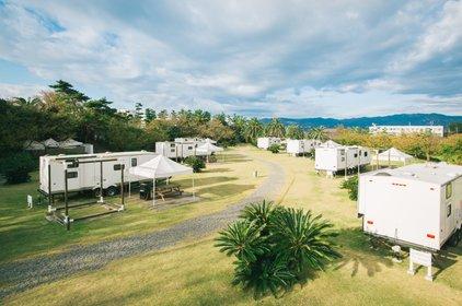 初島アイランドリゾート アイランドキャンプヴィラ(トレーラーヴィラ)