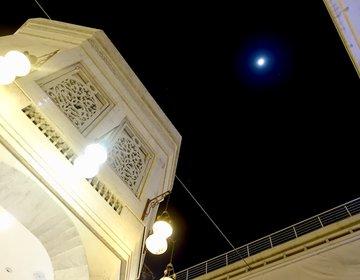【本物の夜空を見ながら中東の料理に酔いしれる】ドバイのおすすめディナーはラッフルズホテル