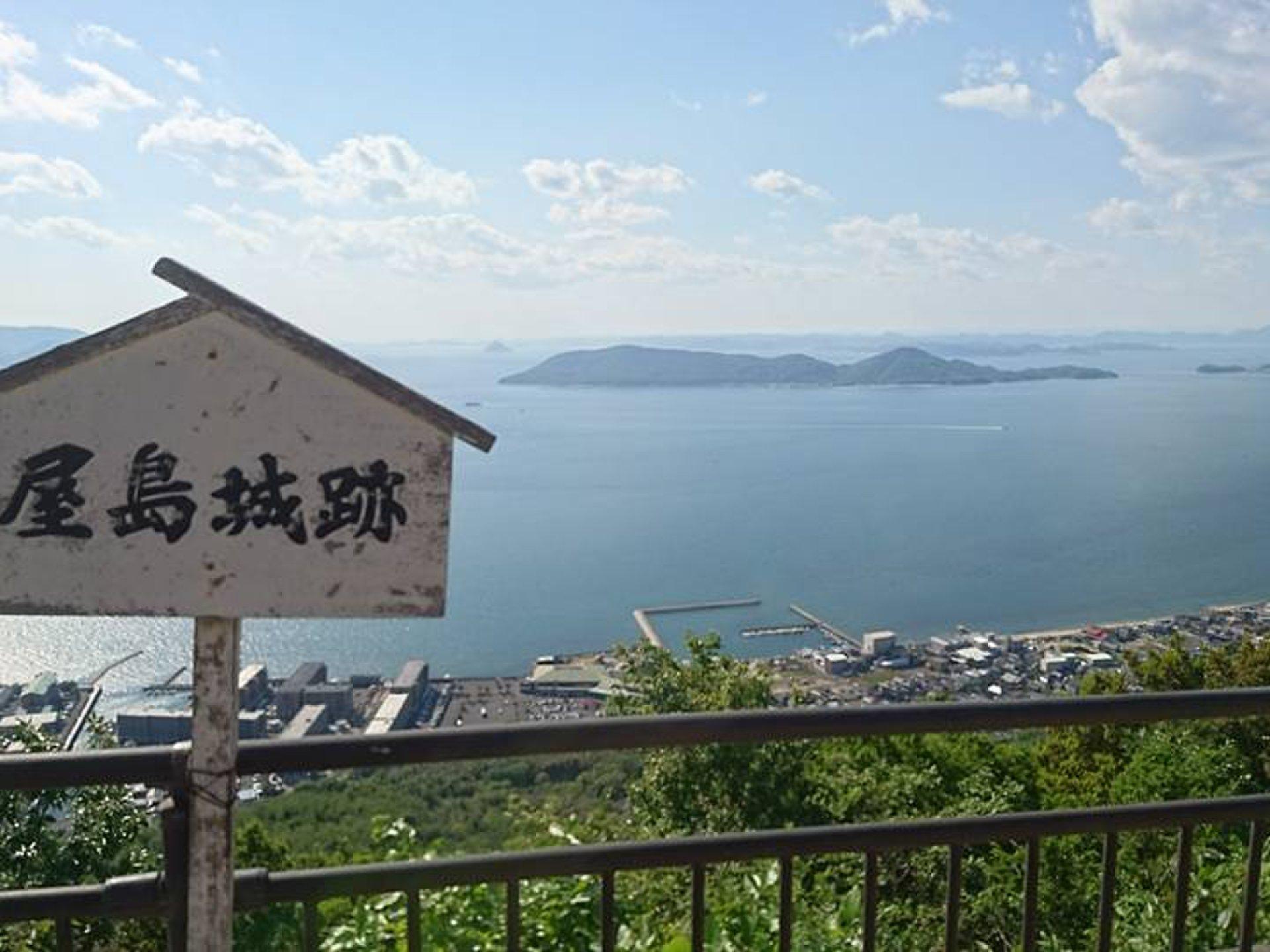 香川県はうどんだけじゃない!屋島編 平家と源氏が戦った源平合戦の古戦場を一望できるナイスビュー