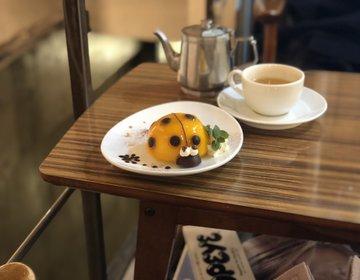 表参道駅周辺お勧めカフェ・可愛いインスタ映え500円スイーツ『ナルーカフェ』
