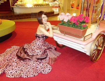 ドレスレンタルが800円と超お得♡楽しい写真撮影を名古屋で。楽田にあるお菓子の城は女子デートに最高