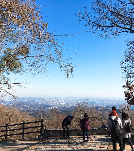 高尾山 山頂展望台