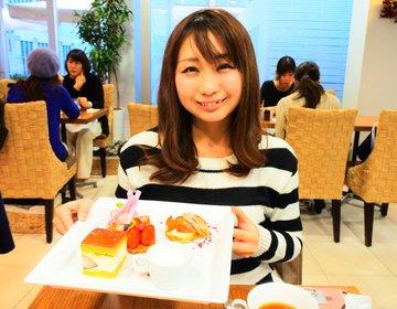 【神戸・女子会】お昼から穴場カフェでちょっぴり贅沢女子会♩フォトジェニックなワンプレートスイーツ♡