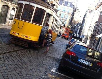 【ポルトガル女子旅☆】リスボンの路面電車に乗って散策☆
