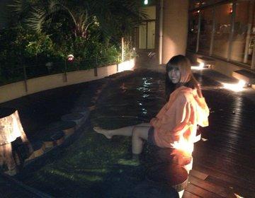 【本当は教えたくない穴場】足湯しながらディズニーの花火、葛西臨海公園