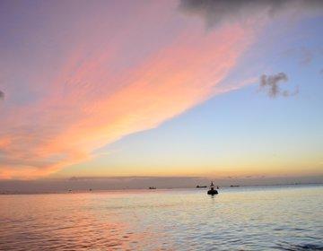 千葉県でドライブデートにおすすめ!綺麗な夕陽が見れるスポット!夕陽に染まりたい人この指とーまれ!