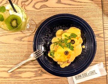 原宿のパンケーキカフェ「BURN SIDEST CAFE」はパンケーキよりエッグベネディクトが極上!