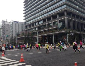 【都内23区がマラソン会場】東京マラソンを日本橋近辺で見学した後は超有名パン屋or老舗レトロ喫茶?