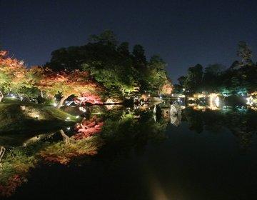 超穴場な関西紅葉ライトアップ!美しすぎる【玄宮園】はデートで行きたい♡