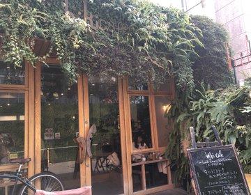 渋谷・宇田川町で緑に囲まれた隠れ家カフェを発見!おしゃれビストロランチを堪能!