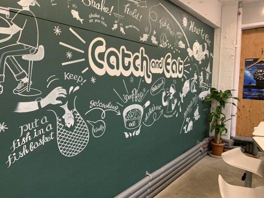 つりぼりカフェ Catch and Eat 吉祥寺店